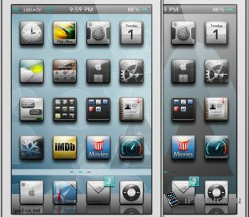 Legacy - тема из Cydia для iPhone / iPod / iPad [Бесплатно]