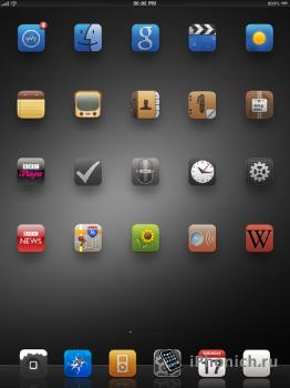 Suave HD Theme для iPad / iPad 2 (Скачать)