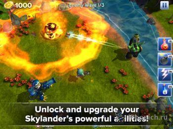 Skylanders Battlegrounds - экшн-приключение.
