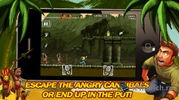 Run Like Hell! Deluxe - платформенная игра