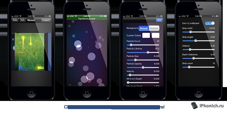 Живые обои для iOS - твик LivePapers