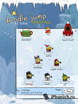 Doodle Jump Christmas Special для iPhone / iPad / iPod Touch