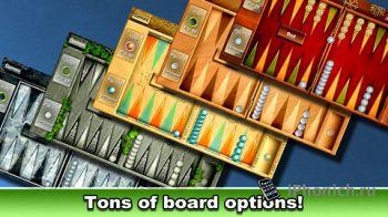 Backgammon HD - длинные нарды бесплатно для iPad и iPhone