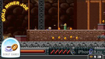 Gold Miner Joe - забавный платформер с симпатичной графикой