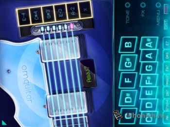 OMGuitar™ Advanced Guitar Synth - гитара для iPad,