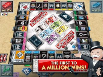 MONOPOLY Millionaire - Монополия для iPad / iPhone / iPod Touch