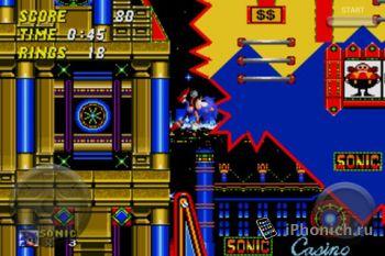 Sonic the Hedgehog 2 - Ежик Соник для iPhone / iPod Touch