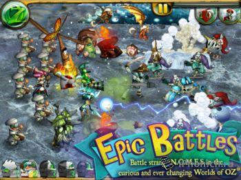 March on Oz - одна из лучших  iOS игр, ноября 2012 года!