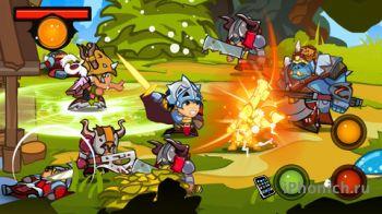 Mighty Wardens - 2D аркада с поддержкой мультиплеера.