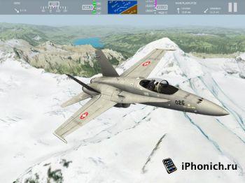 aerofly FS - реалистичные полеты на iPad / iPhone