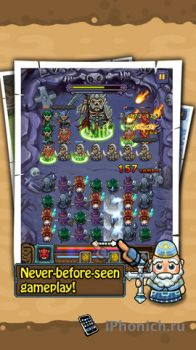 Puzzle Saga - Интересная игра в духе пазлквест