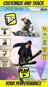 APO Snow - симулятор сноубординга и горных лыж.