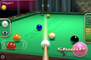 3D Pool Master - бильярд для iPhone и iPad