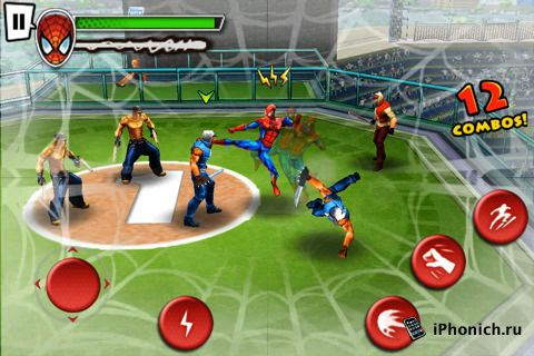 Spider-Man: Total Mayhem на iPhone/ iPad / iPod Touch