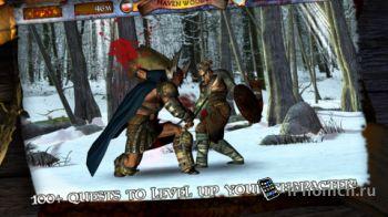 Infinite Warrior - кровавые убийства врагов в рыцарские времена.