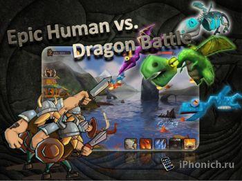 Vikings vs Dragons - эпическое сражение людей против драконов.
