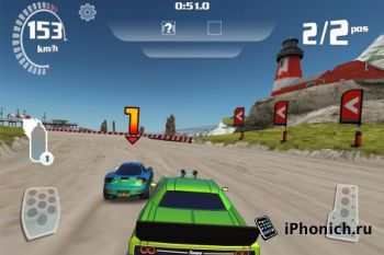 Nitro Racing Highways для iPhone / iPod Touch / iPad (ipa)