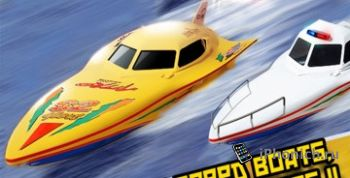 A Police Chase Nitro Speed Boat Race HD
