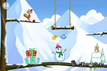 Foot Nut - головоломка для iPad / iPhone / iPod Touch