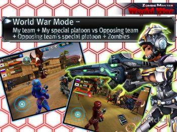 Zombie Master World War - онлайн шутер