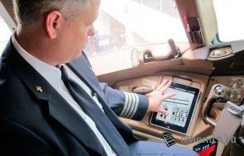В США авиакомпании экономят керосин при помощи iPad