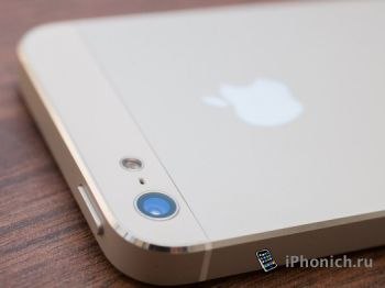 У iPhone 5S будет камеру с кадровой частотой 120 кадра/сек