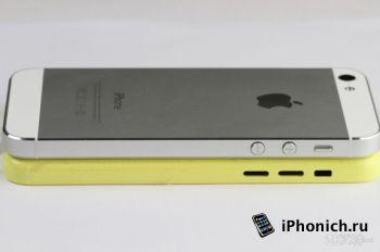 iPhone 5 vs iPhone Light: сравнение корпусов
