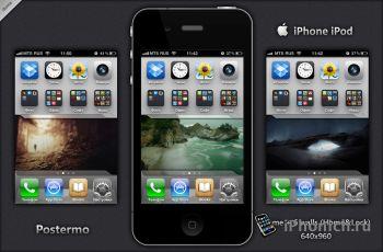 Postermo - обои для iPhone 4 Retina