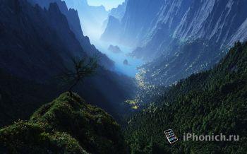 Панорамные обои для iPhone