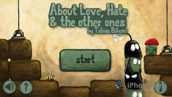 About Love, Hate and the other ones - оригинальная аркада-головоломка для iOS