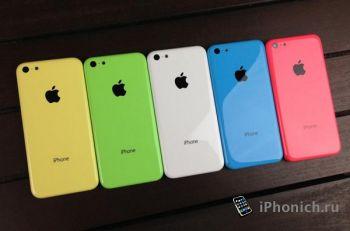iPhone 5C: корпуса (видео)
