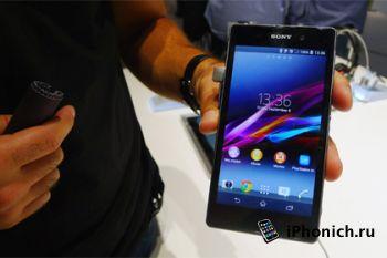 «Водоустойчивый» телефон Xperia Z1 уже в РФ