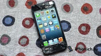 iPhone 5S  разбить легче, чем iPhone 5