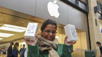За три дня Apple продала 9 млн. новых iPhone