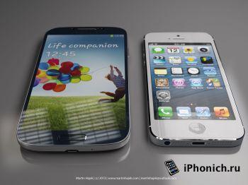 iPhone 5s vs Samsung Galaxy S4