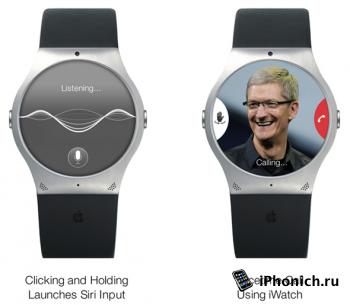 Умные часы iWatch от Apple: Концепт (фото)
