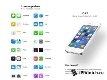 За месяц iOS 7 установили на 70 процентов устройств