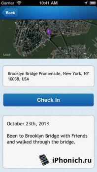 Footprint - Where I've Been - картографическое приложение для iOS