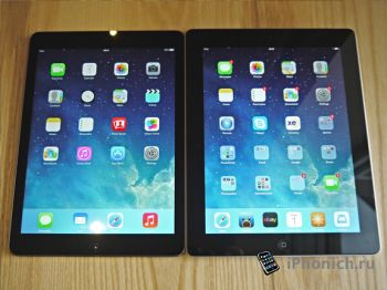 iPad Air vs iPad 4 (видео)