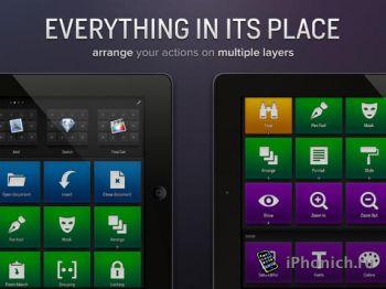 Actions for iPad - Страшная программа