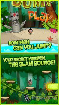 Pocket God: Ooga Jump - помоги пигмеем добраться до вершины.