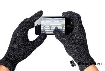 Cенсорные перчатки для iPhone от Mujjo
