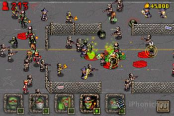 Angry Zombies !! - прикольная игра