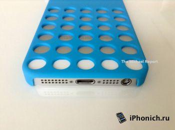 Cиликоновый чехол для iPhone 5s