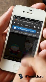 Skyfire Web Browser - flash браузер для iPhone