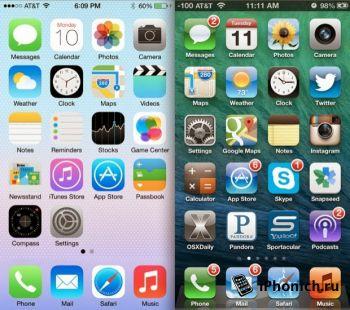 Все приложения будут оптимизированы под iOS 7 до 1 февраля 2014