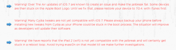 Скачать Evasi0n 7 версия 1.0.1: без Taig