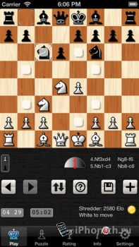 Shredder Chess - Шахматы для iPhone