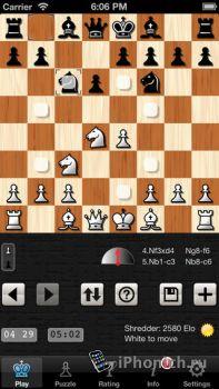 Shredder Chess - Шахматы для iPhone
