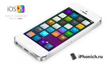Концепт iOS 8: Интерактивные уведомления